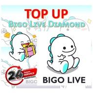 VVIP TOPUP)BIGO直播充值 BIGO LIVE TOPUP - OFFICIAL TOP UP BIGO LIVE CHEAPEST* just used the id topup*