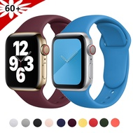 Silicone Strap For Apple Watch series 6 SE 5 4 3 2 Sport correa watchband bracelet iWatch apple watch band 44mm 40mm 38mm 42mm