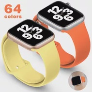 Soft Silicone Band for Apple Watch 6 Series SE 5 4 3 2 1 44MM 40MM Rubber Watchband Strap for iWatch 4/5 42MM 38MM Bracelet