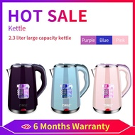 Kettle/Jug/Jug kettle/electric jug kettle(2.3L) Double Stainless Steel electric Automatic Cut Off Kettle 2.3L