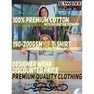 ✜✸SUPASYX スパシク Premium Designer UNISEX, COUPLE, MEN T-Shirt Collection - KNCKOUT Katagana Samurai