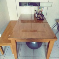 二手實木餐桌(自取價3999