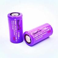 Bestfire 18350電池原廠神火 30a 動力電池 1100mAh 3.7v鋰電池 (平頭 )  動力鋰電池