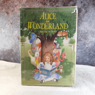 Alice in Wonderland four pop-up books