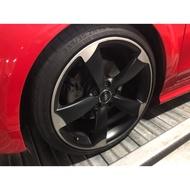 奧迪原廠 RS 19吋 平光黑鋁圈