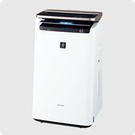 日本公司貨 夏普 SHARP【KI-JP100】空氣清淨機 適用23坪 PM2.5 加濕 抗菌 過敏 塵蹣 HEPA 自動除塵
