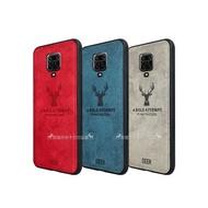 DEER 紅米Redmi Note 9 Pro 北歐復古風 鹿紋手機殼 保護殼 有吊飾孔