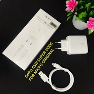 New ~ Oppo Original Charger 100% Super Oppo Micro Charger -@ Usb + Amp; Type @ C 65w