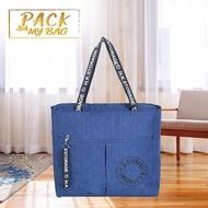 Pack My Bag กระเป๋าถุงผ้าเสริม สำหรับเดินทาง แข็งแรง สามารถเสียบเข้ากับกระเป๋าเดินทางได้-801048