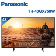 │Panasonic│國際牌 43吋 4K UHD 聯網液晶電視 TH-43GX750W