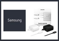 SAMSUNG三星 原廠 45W 快充旅充組 (旅行充電器+雙Type C傳輸線 ) EP-TA845
