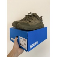 [老闆私物] HOKA ONE ONE TOR ULTRA LOW WP JP olive 軍綠