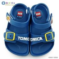 Tomica多美汽車 漢堡車X薯條車 輕量涼鞋 TM1829 藍【童鞋城堡旗艦店】