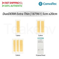 ConvaTec 187961 DuoDERM Extra Thin Dressing - 2 x 8 Inches, 1/2/3/10 piece