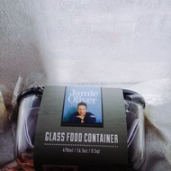 jamie oliver方形耐熱玻璃保鮮盒 470ml
