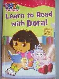 【書寶二手書T3/語言學習_XDU】Learn to Read With Dora!