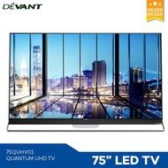 "Devant 75QUHV01 75"" LED Display Quantum UHD Smart TV (App1)"