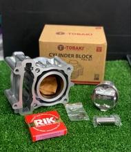Tobaki FZ150 / LC LC135 57mm (DOME) BLOCK-FORGED PISTON (KIT SET)