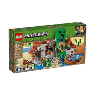 【LEGO 樂高積木】LT-21155 創世神 Minecraft系列-The Creeper Mine(834pcs)