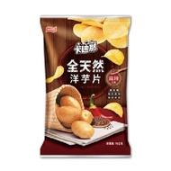 卡迪那 全天然洋芋片(麻辣口味-105g)[大買家]
