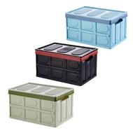 【現貨 免運-耐重200kg】汽車車後收納箱 折疊收納箱 折疊式收納箱 衣物收納箱 摺疊箱 儲物箱 露營收納箱