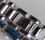 QIKANG Bulgari_watch square classic simple square plate women's watch steel belt watch neutral fashion watch