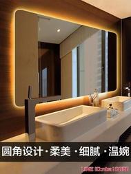 浴鏡伯侖 無框浴室鏡背光鏡壁掛led智慧衛生間化妝鏡燈鏡防霧帶燈鏡子 JDCY潮流站