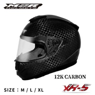 M2R 得安 XR-5 XR5  碳纖維 卡夢 3/4罩 半罩 安全帽 碳纖維原色 六角碳纖維