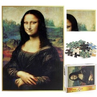 Kingslim Jigsaw Puzzle 1000 PCS Puzzles Toy Mona Lisa Decompression Educational Impossible Puzzles For Adult Kids