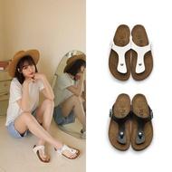 【FUFA Shoes 富發牌】人字百搭拖鞋-黑  1PQ09