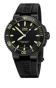 Oris Aqis 300M專業潛水錶( 0173376534722-0742634BEB )原廠公司貨/43mm