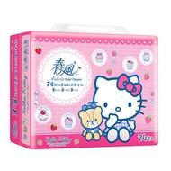 春風Kitty三層抽取式衛生紙100 抽*24包【愛買】