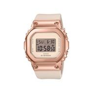 CASIO卡西歐 G-SHOCK 簡約優雅 玫瑰金錶殼 金屬時尚 GM-S5600PG-4_38.4mm