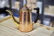 【沐湛咖啡】Kalita Copper POT 鶴嘴銅壺0.8mm厚銅 0.7L特製電木隔熱手把 加強鍍鎳 700ml