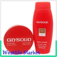 ♚☢◊  Glysolid Glycerin Cream and Body Lotion Pack