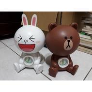 LINE 熊大+兔子 存錢筒(絕版)