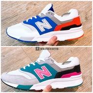 NEW BALANCE 997 復古 經典 休閒 運動 男女鞋 白藍CM997HZJ 灰綠CM997HZH