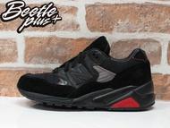 男生 BEETLE NEW BALANCE BAIT MT580GI1 特種部隊 蛇眼 聯名 黑紅 麂皮 復古 慢跑鞋