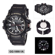 Casio Mens G-SHOCK MUDMASTER Analog-Digital BNIB GG-1000-1A