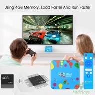 MS H96 Mini H6 Android 9.0 Set Top Box 4G+32G/4G+128GB Quad Core 2.4G/5G WIFI Media Player