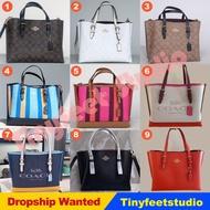 Coach C4250 C4086 C4085 C4084 Mollie Tote 25 in Signature Canvas Women Handbag Shoulder Crossbody Sling Bag