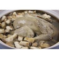 【萬象極品】鮑魚人蔘雞湯 智利生鮑魚/2顆約310g+全雞人蔘湯底(內含1隻全雞) ~真材實料