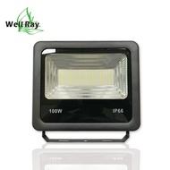 【緯叡科技】LED 100W 投光燈 投射燈 洗牆燈 探照燈 景觀照明  防水 耐熱 爆亮 全電壓 舞台燈 戶外照明