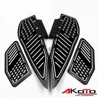 Honda Yamaha Xmax300 Xmax250 Modified Accessories Pedals Cnc Aluminum