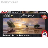 ▨﹊✲schmidt GAME Jigsaw Puzzles GERMANY import  1000PCS Adult puzzle The sunset shines1111111