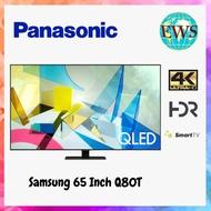 Samsung 65 Inch Q80T QLED 4K UHD HDR Smart TV SAM-QA65Q80TA + Free Galaxy A21