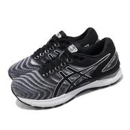 【asics 亞瑟士】慢跑鞋 Gel-Nimbus 22 D 寬楦 女鞋 亞瑟士 路跑 輕量 緩震 亞瑟膠 白 黑(1012A586100)