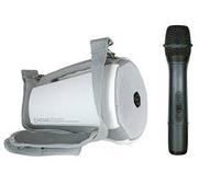 【嘉友】迷你攜帶式手提無線擴音機黑白兩色(COACH 400)