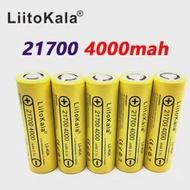 Power-5c-Rate-Discharge Battery 3.7v 21700 4000mah Liitokala 40A Lii-40a Mod/Kit Li-Ni