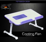 [HICKIES] Germany Cooling Fan Reading Desk Laptop Table Bed Tray Cooling Pan Table